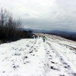 Hófödte bérceken jártunk